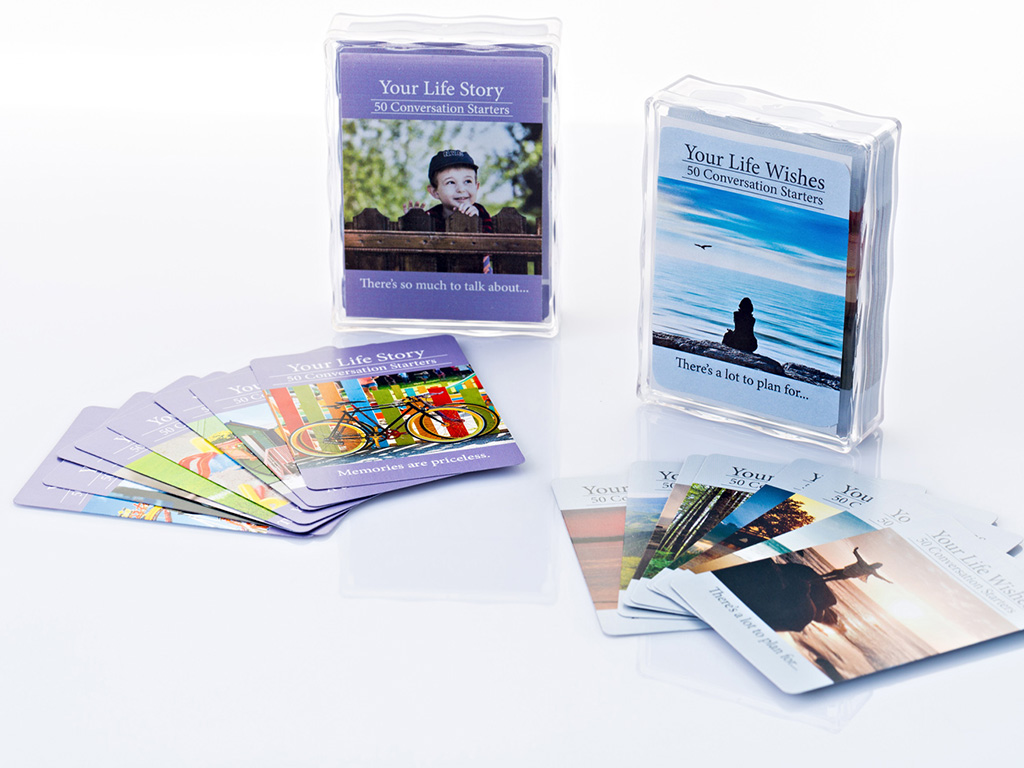 Your Life Talks - Conversation Starter Cards
